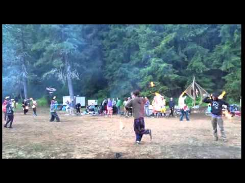 Cryptic Firecat at Firedrums 2015   Spin More Poi